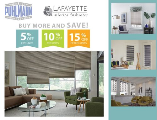 This sale has ended – Save on Lafayette Transitional Shades